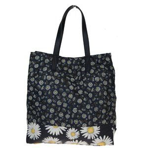 Marc Jacobs Polyester,Leather Tote Bag Black 07GC2